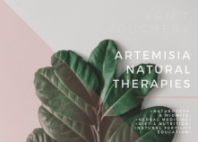 Artemisia Natural Therapies Gift Voucher- front